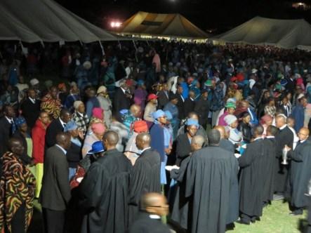 Saturday evening service of Holy Communion