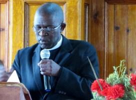 Rev. Bernard Mojaki Kometsi