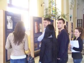 """L'exposition """"Hommage au Capitaine Conan"""", présentée à l'Université de Craiova"""