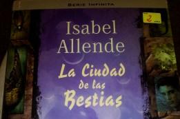 La Ciudad de las Bestias, novela de Isabel Allende