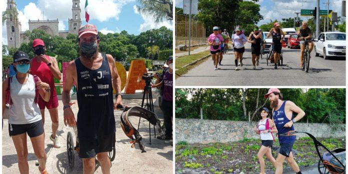 Jonas Deichmann llegó a Mérida tras trotar por 13 estados en un año |  LectorMx