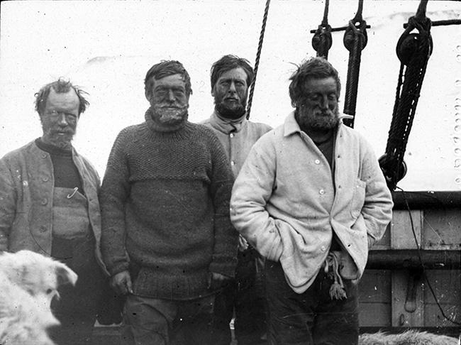 Shackleton nimrod - Au cœur de l'Antarctique