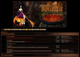 bibliofolie halloween - Billet commémoratif : 13 ans de web