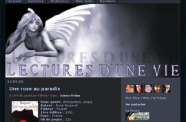 lectures dune vie2006 - Billet commémoratif : 13 ans de web
