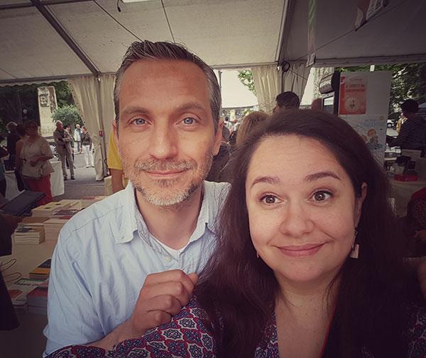 norek selfie - Comédie du livre 2016