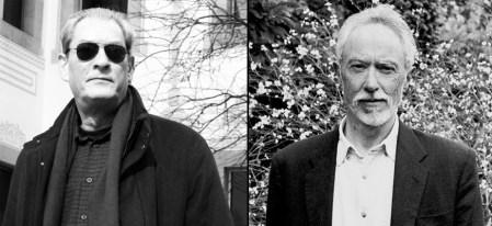 Paul Auster / Fotograffía - copy Maria Teresa Slanzi ) y Coetzee (Fotografía suministrada por editorial sin créditos)
