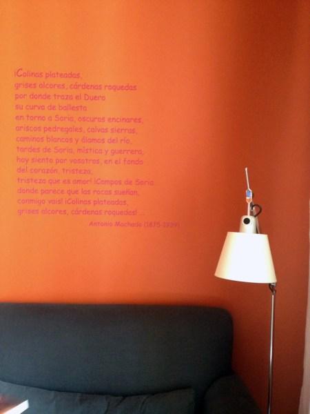 El rincón de lectura de Carme Riera © karina beltrán 2013