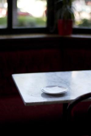 El rincón de lectura de Almudena Solana. Fotografía Karina Beltrán © 2013