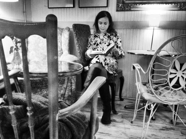 Emma Rodríguez en el Café de la Luz. Madrid. Por Nacho Goberna © 2013