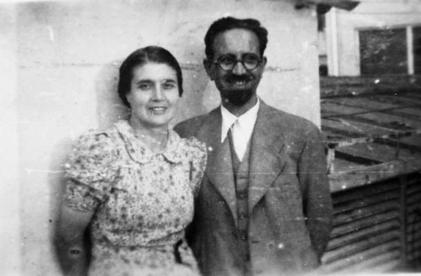 María Moliner con su marido, el catedrático de Física Fernando Ramón y Ferrando