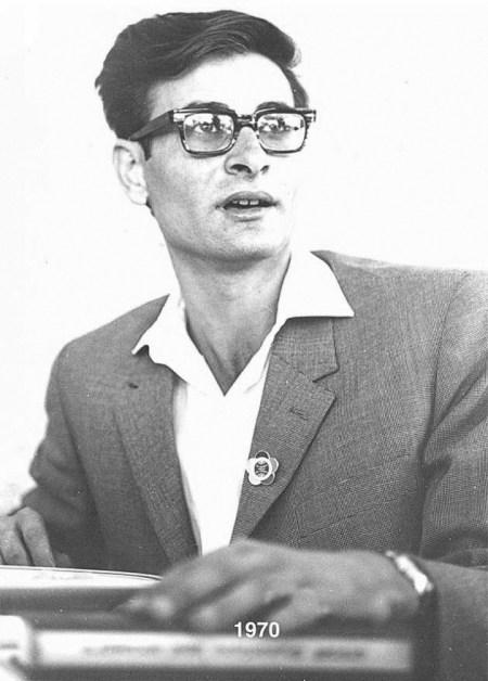 Mahmoud Darwix. Fotografía: www.darwishfoundation.org