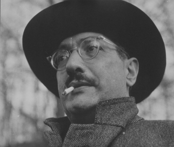 Fotografía de Consuelo Kanaga a Mark Rothko en 1940