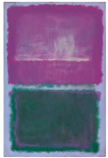 Mark Rothko - Sin título - Lavanda y verde (1952)
