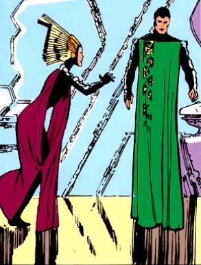 Le look des Kryptoniens tellement année 80 ^^