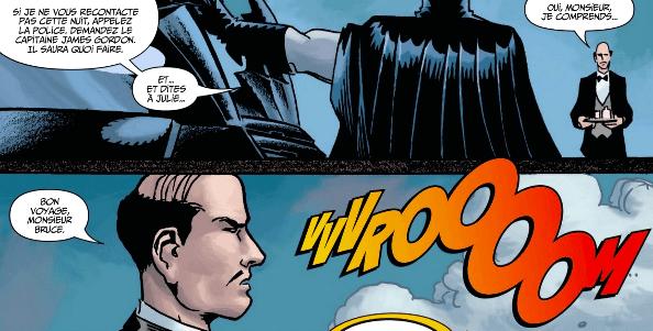 Scène similaire dans Batman et le Moine fou