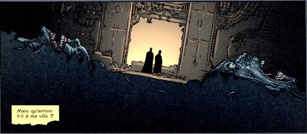 Batman et Gordon qui enquête