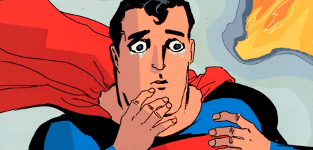 Que voit Superman pour être dans cet état ?