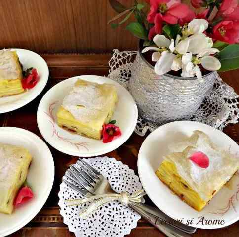 prajitura din foietaj cu iaurt_1