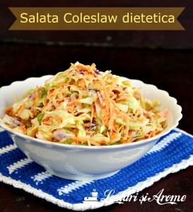 salata Coleslaw dietetica
