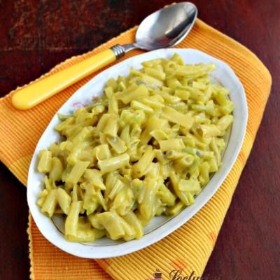 Salată de fasole verde cu maioneză