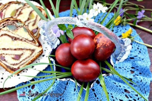 rețete tradiționale de Paști ouă roșii Paști