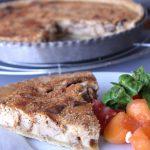 Tarte-tian feuilletée aux légumes d'été
