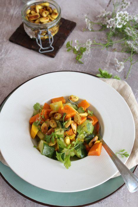 légumes d'été basse température le cul de poule