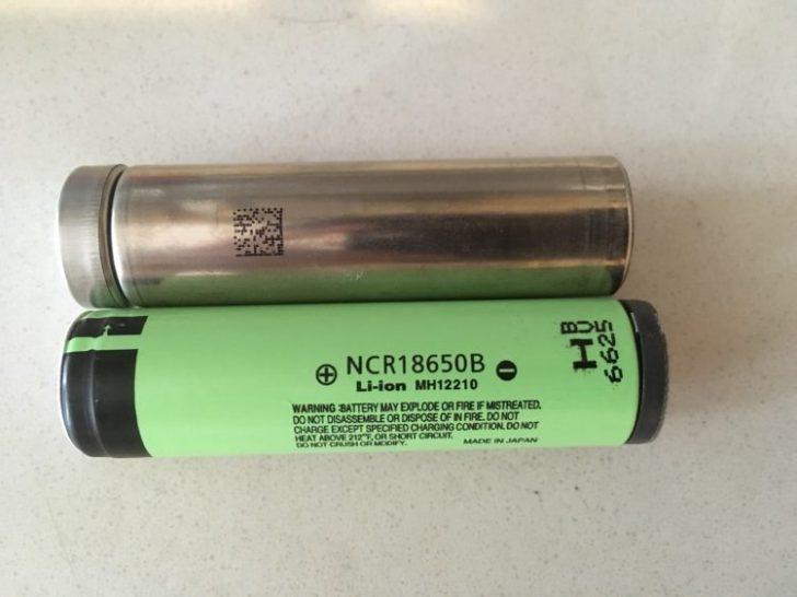 18650電池・新タイプに関して