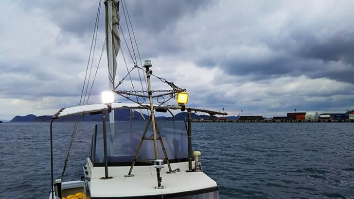 船舶・48w作業灯使用事例