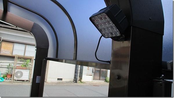 ガレージ作業灯設置