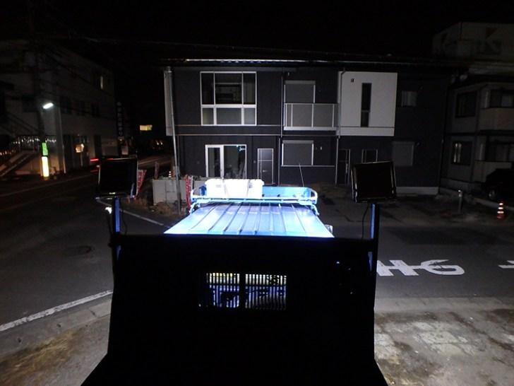工場・led投光器 屋外使用写真