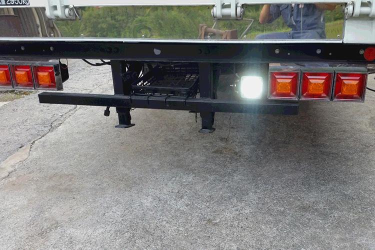 トラックバックライト 作業灯設置写真