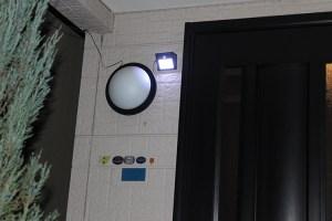 玄関用ライト・センサー照明