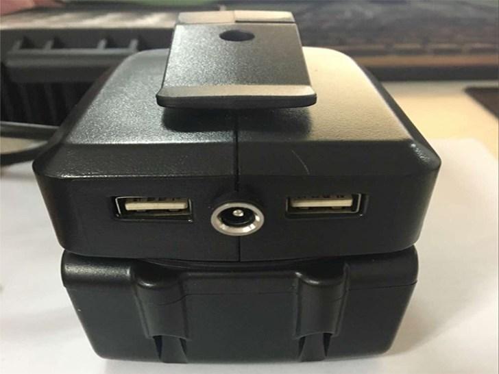 パワーツールバッテリー用アダプター