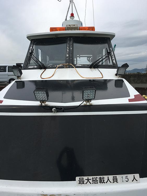 漁船・48w作業灯設置写真
