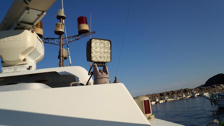 漁船・led作業灯設置事例