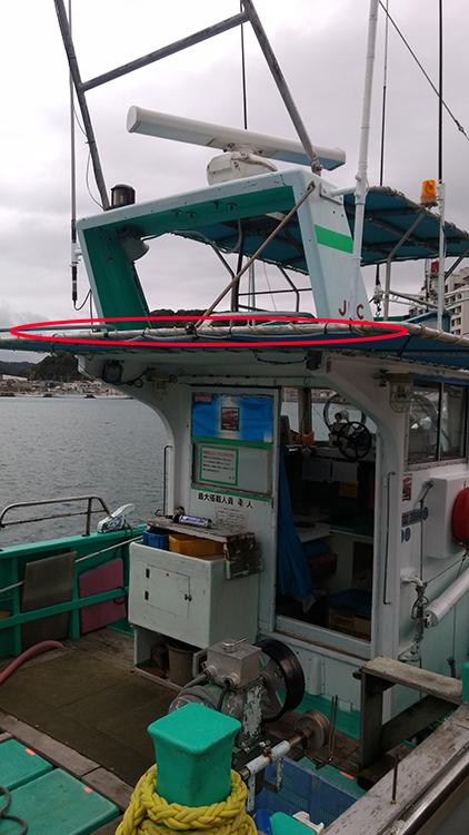 漁船・ledテープライト使用事例