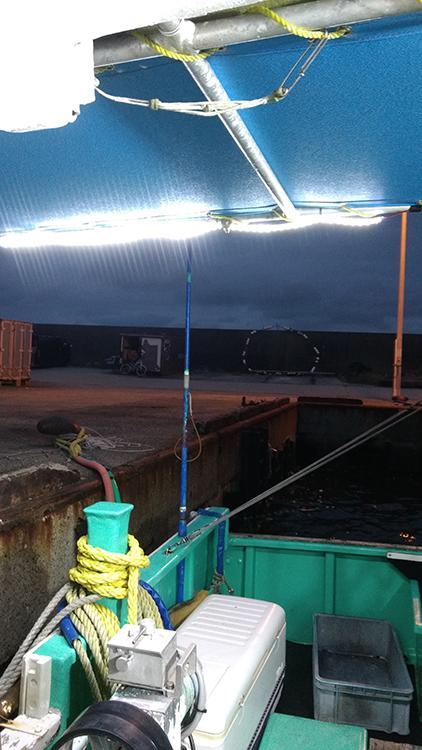 LEDテープライト・漁船設置事例
