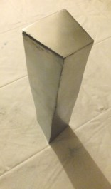 Flatland Tower, 2014 Steel 38cmx9cmx9.5cm