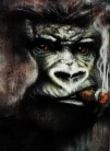 Kong Acrylic spray on steel wool SOLD