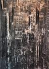 Dario Moschetta NY 18 2017 Mixed Media 78 x 118 cm