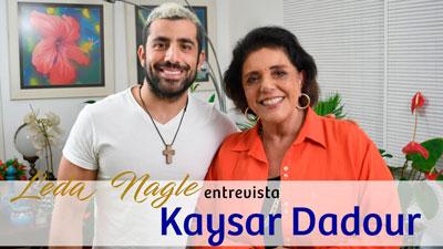 DA SÍRIA PARA O CORAÇÃO DOS BRASILEIROS : KAYSAR DADOUR