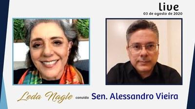 SENADOR ALESSANDRO VIEIRA : PEC DAS FAKENEWS, CPI DA LAVA TOGA| LEDA NAGLE