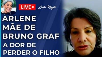 ARLENE, MÃE DE BRUNO GRAF : A DOR DE PERDER O FILHO COM AVC E A LUTA PRA PROVAR A CAUSA DA MORTE .