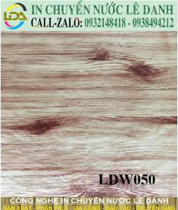 màng in vân gỗ LDW050