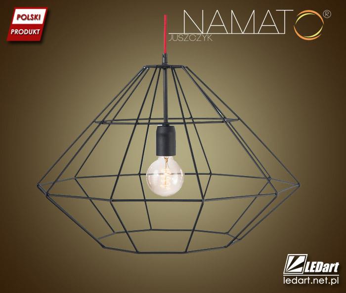 Druciane lampy firmy NAMAT - interesujące oświetlenie do loftowych wnętrz (lampy druciane znajdziesz na stronie https://goo.gl/zPJRAS)