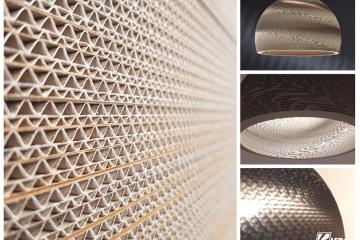 Lampz y kartonu design i ekologia LEDart Kraków