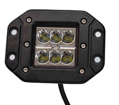 Proiector LED bar Auto Offroad 18W/12V-24V 1320 Lumeni Incastrabil 8 Grade