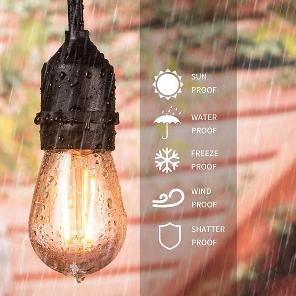 LED Edison Filament Bulb E27 2W 2 | LED Corner
