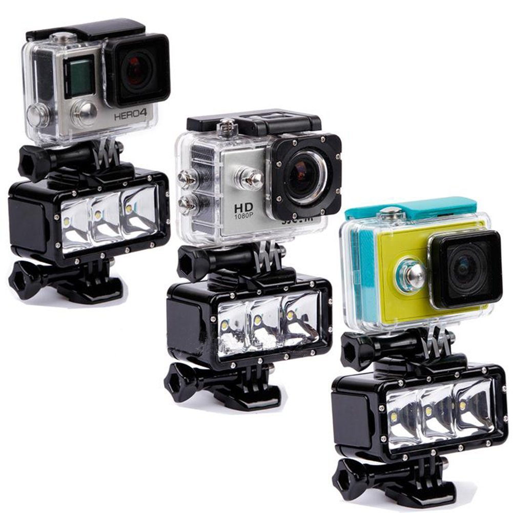 Videolampen voor je GoPro of andere Action camera
